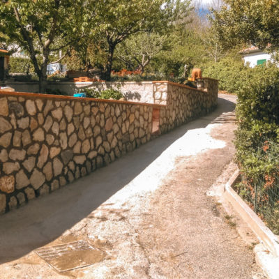 Muro in pietra S.Fiora